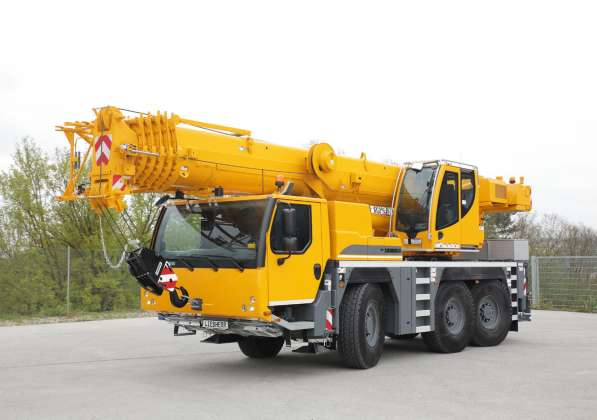 Аренда автокрана 60 тонн 48(64) метров
