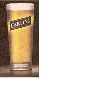 Бокал для пива Carling ( Карлинг), 0.25 литра