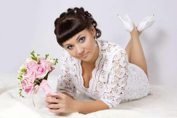 Свадебный макияж, прическа на дом в Челябинске фото 15