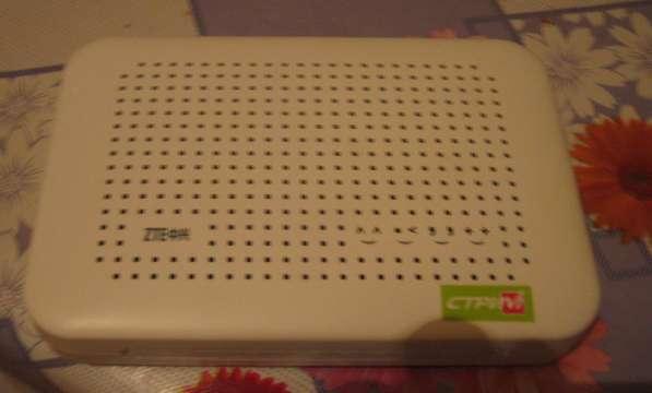 Модем ZTE ZXV10 W300 с Wi-Fi
