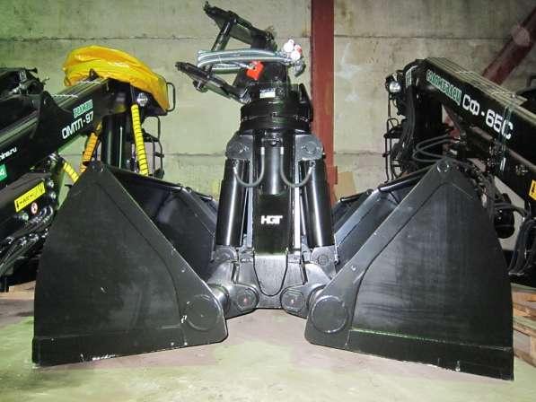 Грейфер для погрузки сыпучих материалов – угля, песка, щебня