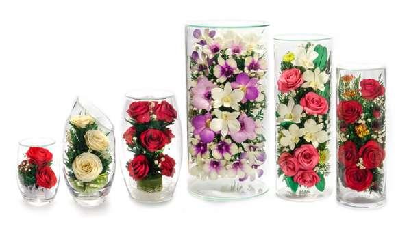 Цветы в вакууме оптом