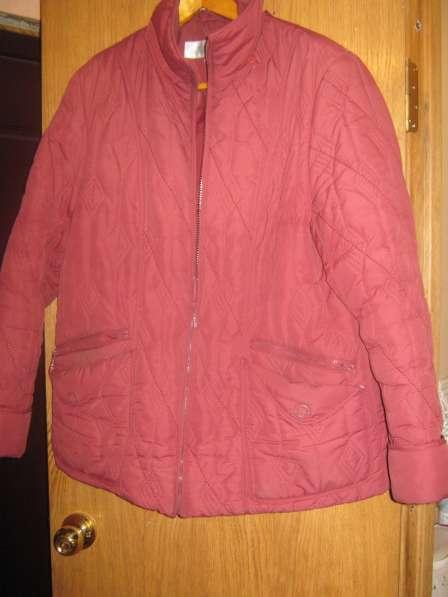 Куртка демисезонная женская 50-52 размер