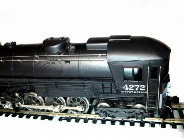 "Модель локомотива ""CAB FORWARD""."