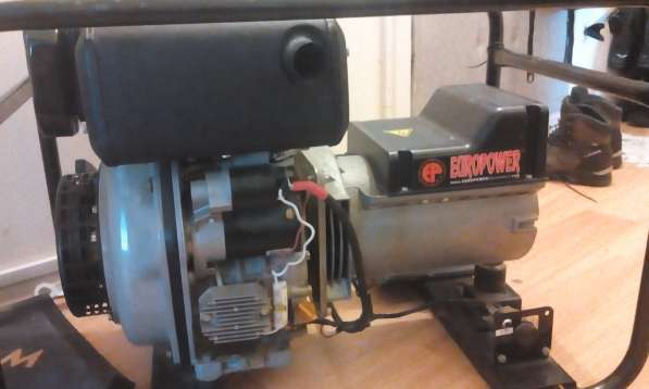 ДТ генератор Europower EP-6000D продам или сдам в аренду!