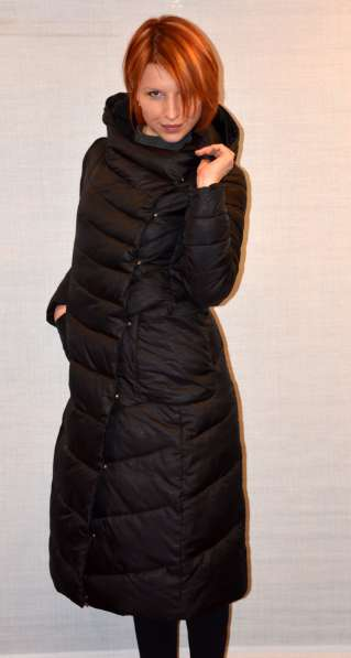 Новое стильное теплое зимнее пальто пуховик
