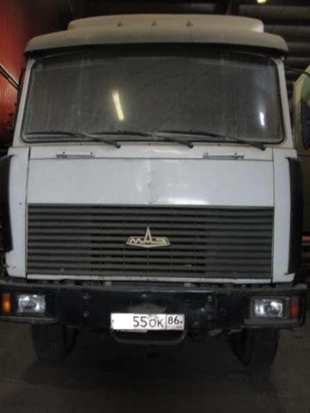 Изотермический фургон МАЗ