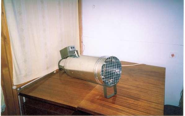 Тепловентилятор, конвектор и теплогенератор промышленный 3-5