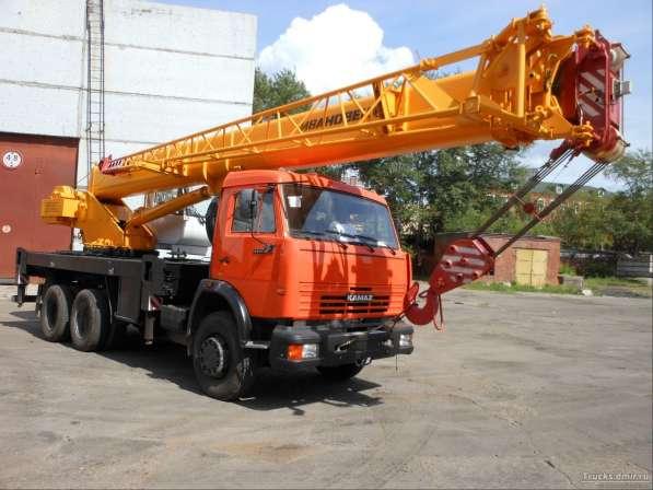 Аренда автокрана 25 тонн 31(39) метров
