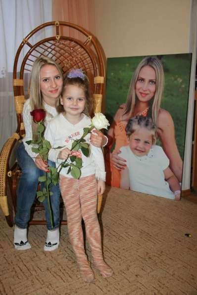 Интерьерная печать, фотообои, баннер, холст в Омске