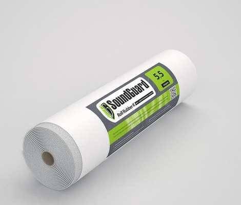 Звуко-гидроизоляционная подложка SoundGuard Roll Rubber