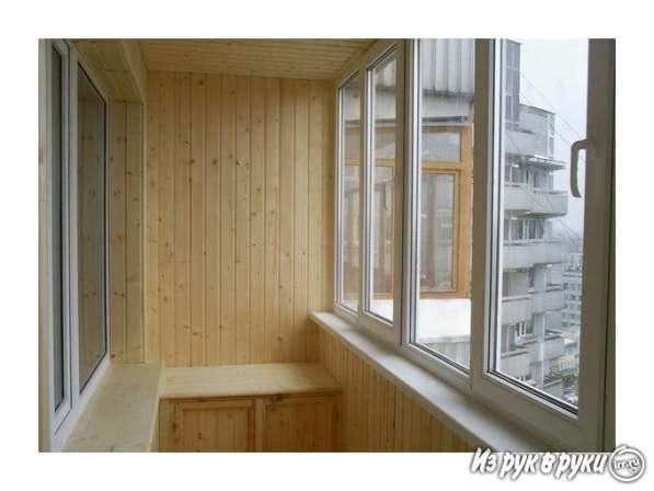 Обшивка балконов и лоджий