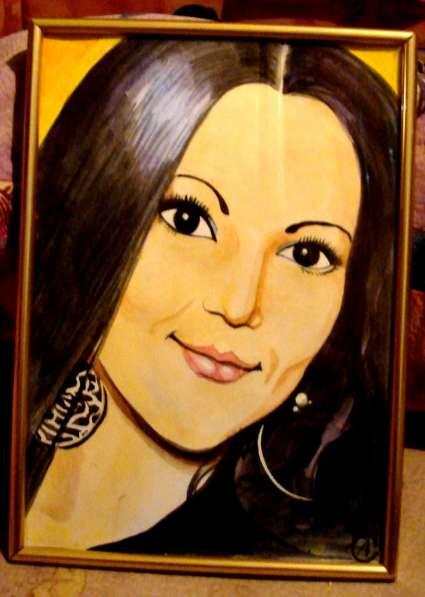 нарисую портрет на основе хорошей фотографии в Самаре фото 4