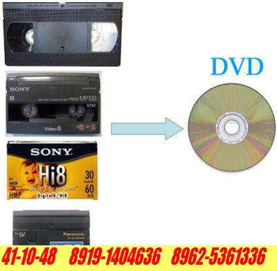 Оцифровка видеокассет (перезапись на DVD и флешки)
