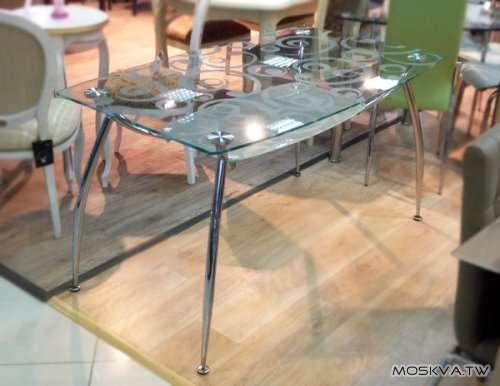 Стеклянные столы и стулья! в Москве фото 3