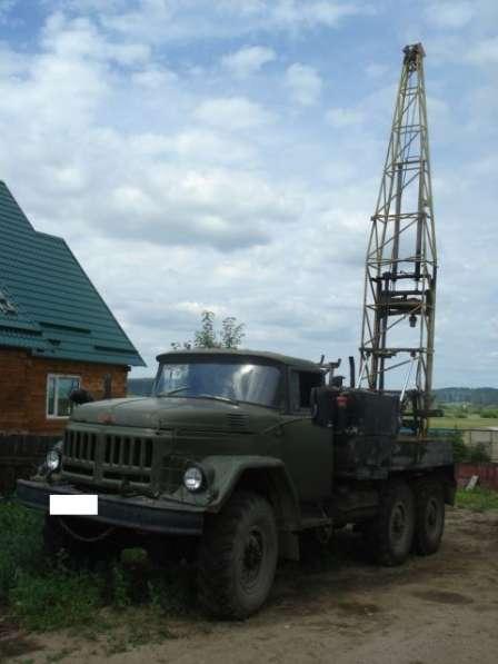 Буровая установка УГБ -50 Зил 131