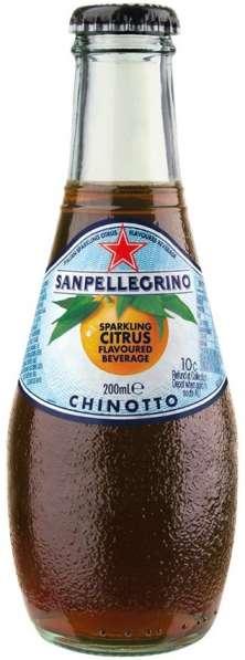 "газированная вода ""S. Pellegrino"" Chinotto"