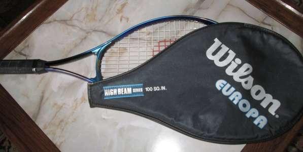 Легендарная теннисная ракетка WILSON EUROPA, ФРГ.