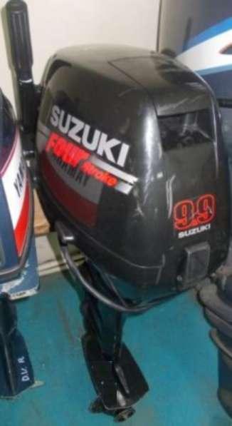 Продам отличный лодочный мотор SUZUKI DF9,9, из Японии