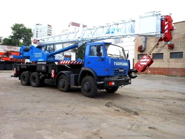 Аренда автокрана 32 тонны 39 метров