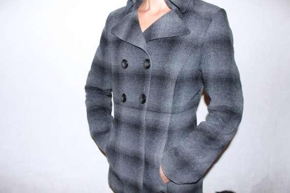 пальто в шотландскую клетку
