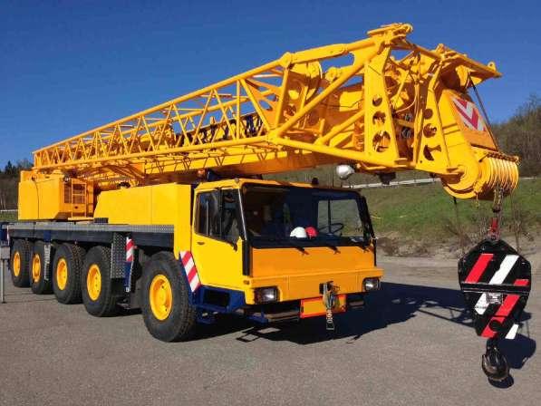 Аренда автокрана 120 тонн 56(78) метров Liebherr LTM 1120