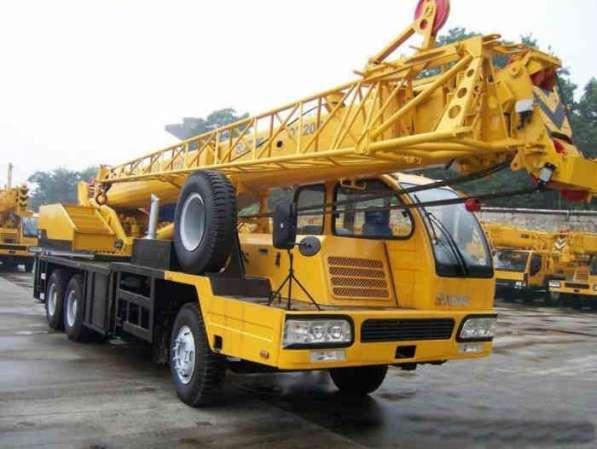 Аренда автокрана 25 тонн 40 метров