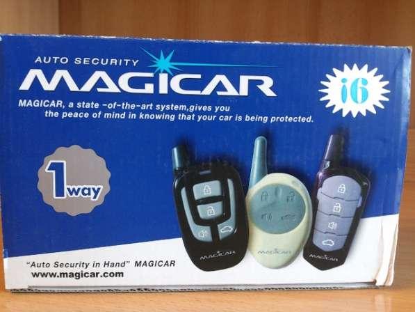 Сигнализация MAGICAR без запуска двигателя.