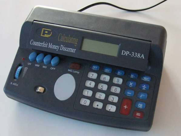 Детектор денег - калькулятор DP-338a
