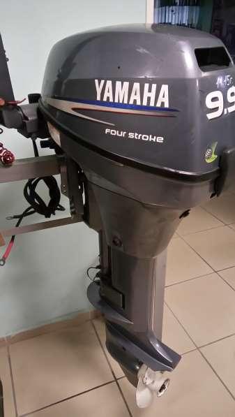 Продам отличный лодочный мотор YAMAHA F9,9, нога S