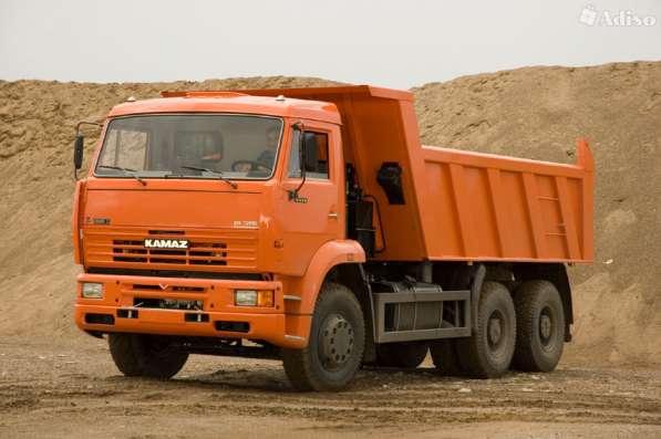 Камаз самосвал, доставка сыпучих грузов