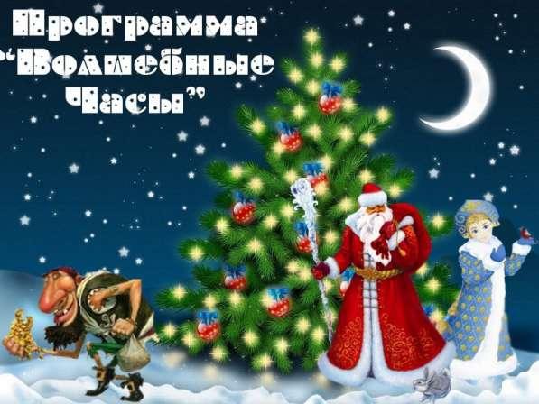 Дед Мороз и Снегурочка. Новогодние программы