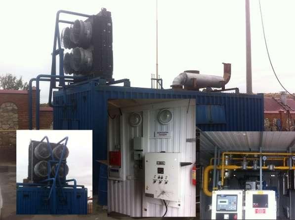 Контейнерная газовая электростанция БКАЭС (газовый генерат