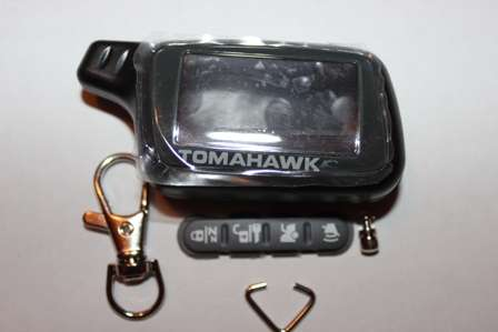 Корпус ЖК брелка TomahawkХ3, X5.Новый.