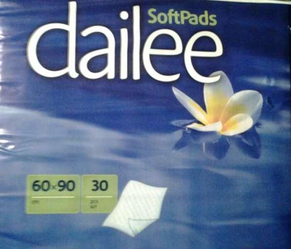 Продам пеленки впитывающие, 60x90см №30, Dailee.