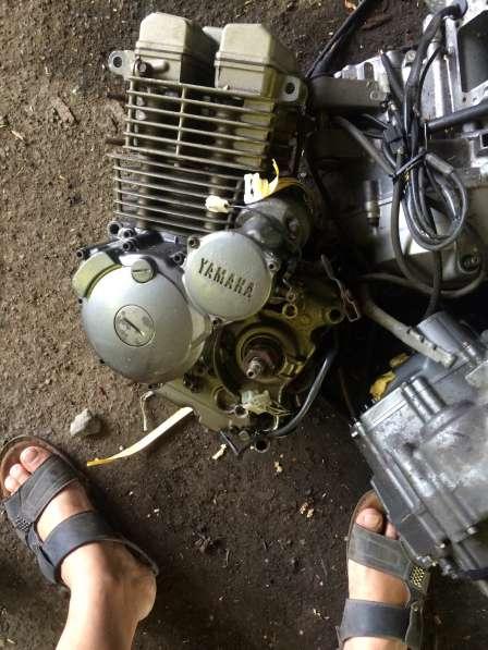 Двигатель YAMAHA TTR 250