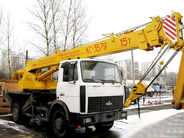 Аренда автокрана 15 тонн 18 метров