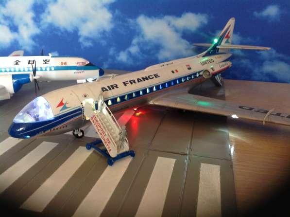 Модель самолёта Caravelle