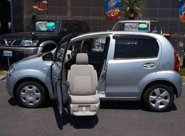 Toyota Passo для перевозки инвалида