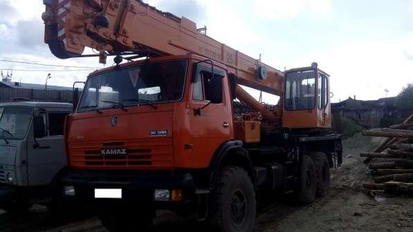 Автокран Юргинец 25 тонн