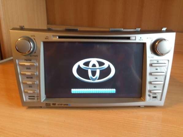 Штатное головное устройство Toyota Camry (40,45 кузов)