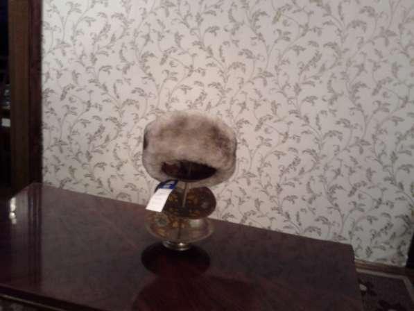 зимняя мужская шапка новая разм 58