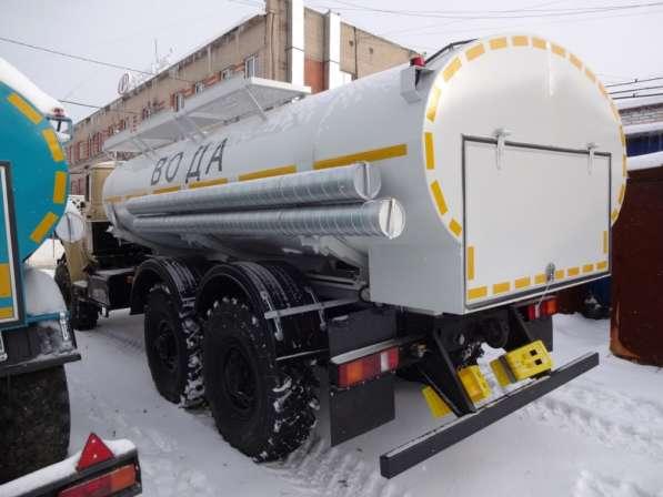 Автоцистерна для воды на Урале северное исполнение 10 куб