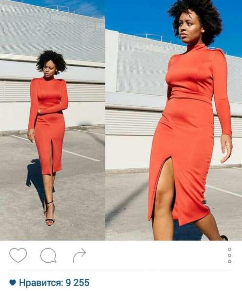 Платье футляр из трикотажа