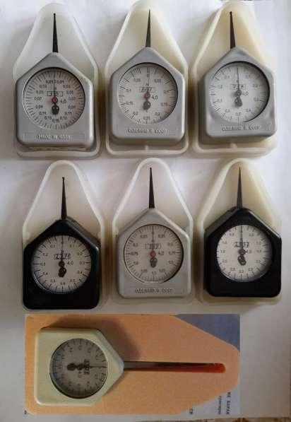 граммометр часового типа