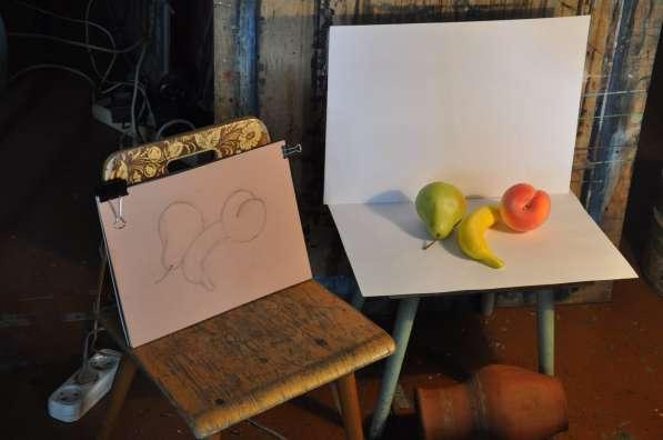 Уроки живописи и рисунка.