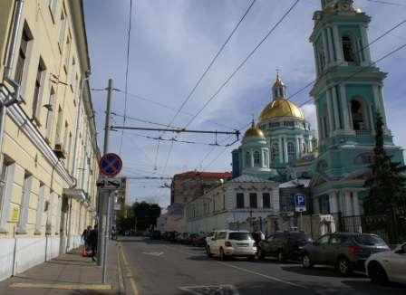 Элитная квартира в центре Москвы