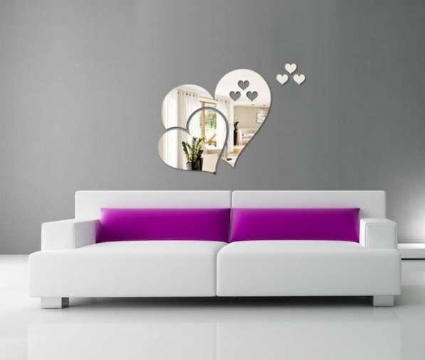 Зеркальный декор для оформления интерьера