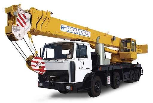 Заказ автокрана от 12 до 25 тонн в Новосибирске