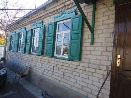В Кропоткине по ул.Гоголя дом из белого кирпича 47 кв.м. на